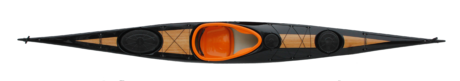 Divine 5.25-Svart-Orange-Bambu-ovanifrån